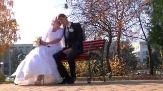 Христианская свадьба Евгения и Валентины, церковь ХВЕ