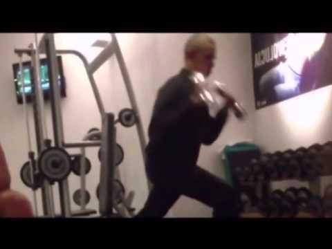 President Obama Workout (Captain Freedom Style)