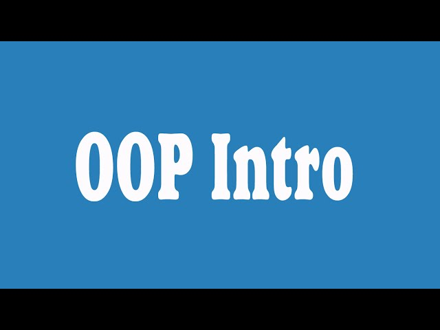 Python Object Oriented Programming OOP (Arabic)