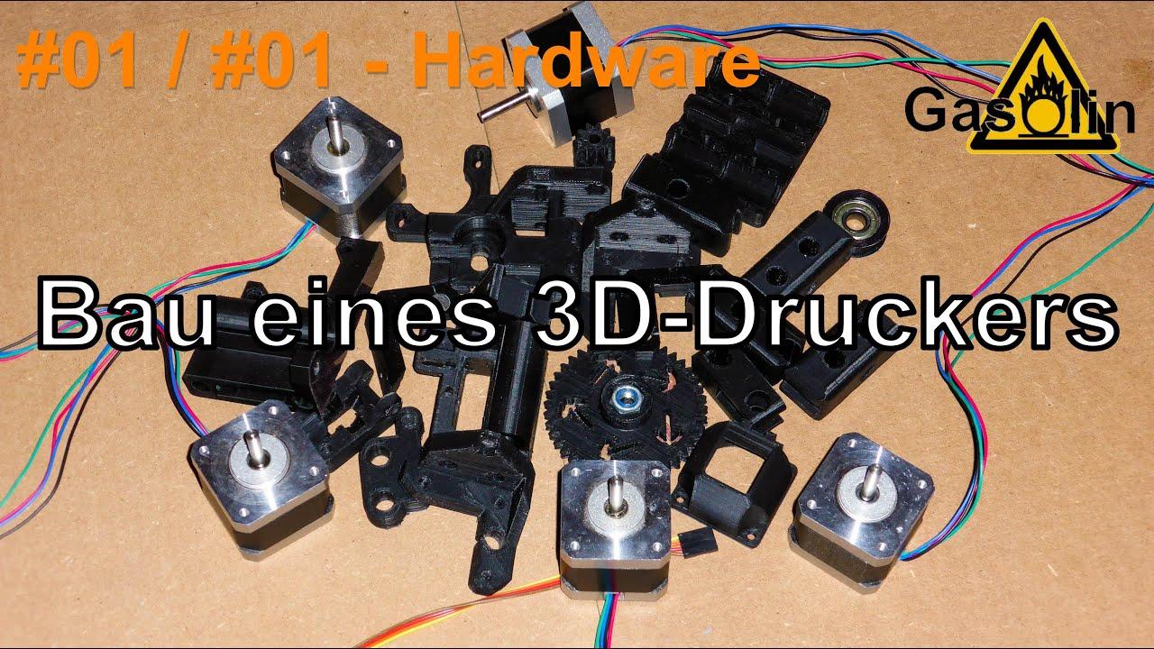 01 bau eines 3d druckers 01 einleitung hardware german deutsch youtube. Black Bedroom Furniture Sets. Home Design Ideas