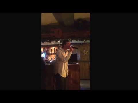Steve Stokes karaoke at New Year's Eve 2013-2014