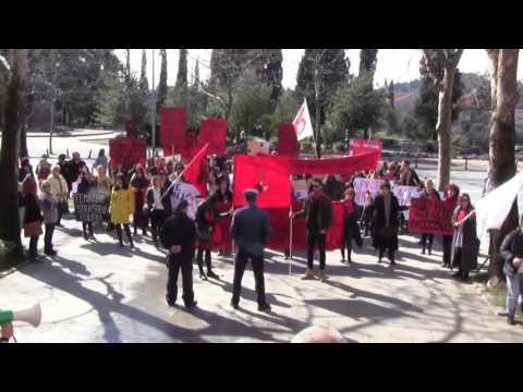 Podgorica: Osmomartovski marš