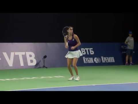 2016 Moscow Open Quarterfinals   Daria Kasatkina vs Julia Goerges   WTA Highlights