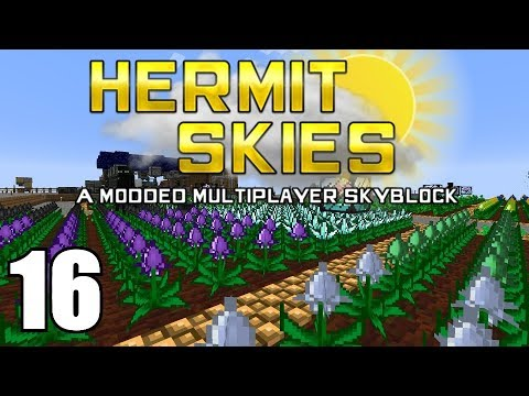 Hermit Skies 16 | Automagical Farming |...