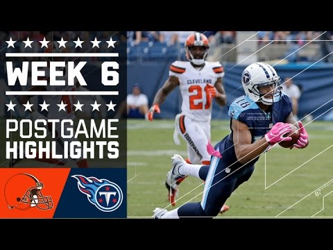 Browns vs. Titans | NFL Week 6 Game Highlights