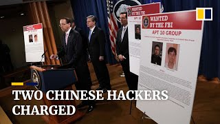 Two Chinese hackers charged as US accuses China of 'massive …