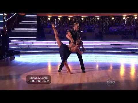 Shawn Johnson and Derek Hough All-Stars Dances