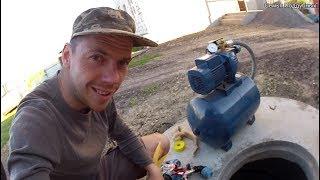 видео Подключение насосной станции к колодцу