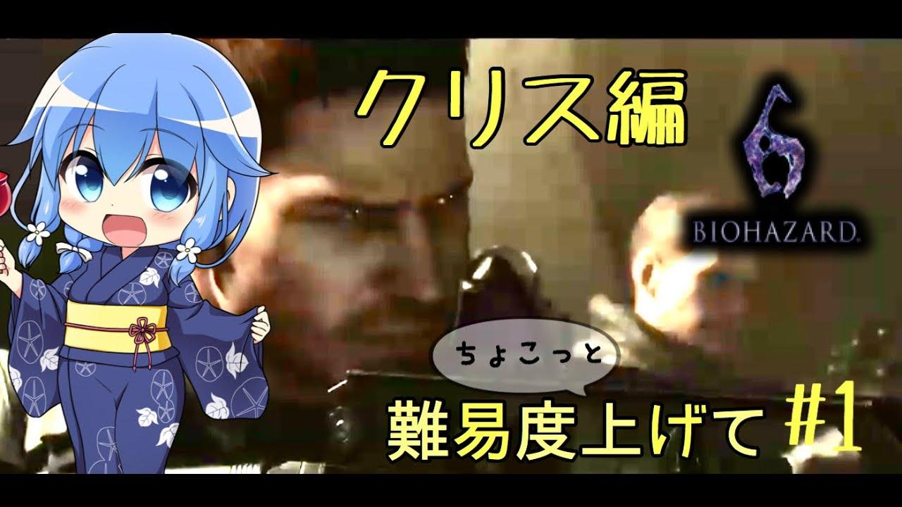 【バイオハザード6】難易度高クリス