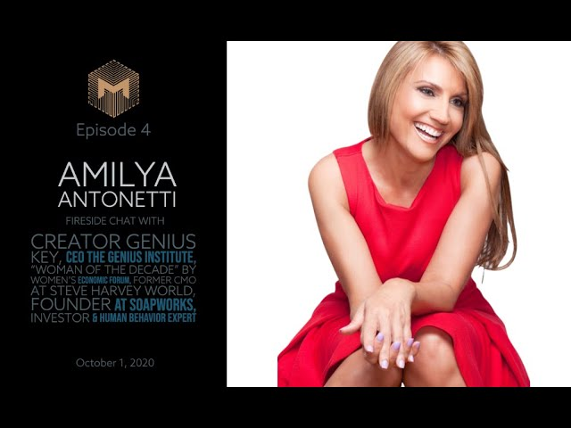 Ep4 - Fireside chat with Amilya Antonetti, 'How I Took My Company From 0 - 100 Million'