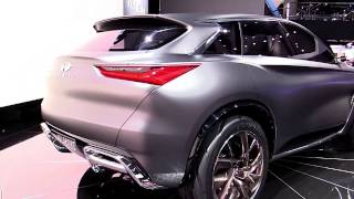 2018 Infiniti QX Sport Concept Limited | Exterior and Interior | First Impression | Look in 4K