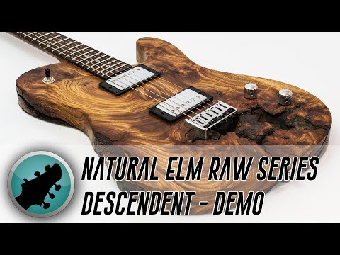 Stunning Natural Elm Raw Series Descendant Demo