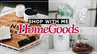 HOME GOODS SHOP WITH ME! (2018) HAUL + NEW AFFORDABLE HOME DECOR | Nastazsa
