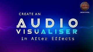 Mahishasura Mardini | Wie Erstellen von Audio-Spektrum mit After Effects