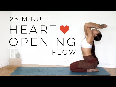 Heart Opening Yoga Flow For Chest, Shoulders & Upper Back