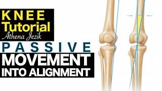Athena Jezik - Passive Movement Into Alignment - Knee Tutorial