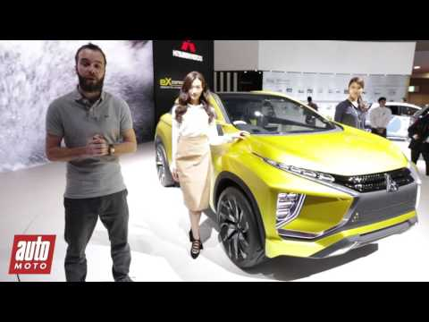 Mitsubishi eX Concept : le crossover électrique présenté à Tokyo [VIDEO]