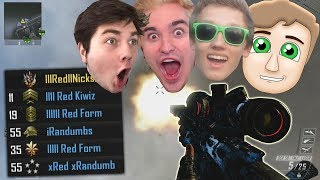 FAKE RED HOUSE PLAYS SEARCH AND DESTROY! - BO2 SnD Trickshotting!