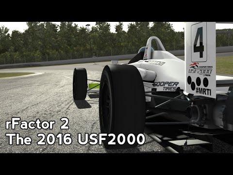 rFactor 2 : The 2016 USF2000 (USF2000 @ Toban Long)