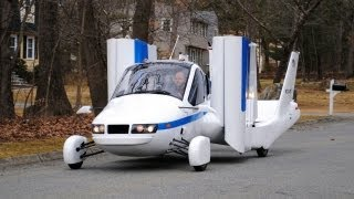 ► Flying Car - Terrafugia Transition street-legal aircraft thumbnail