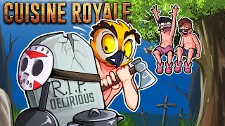 CUISINE ROYALE - COOKING IN THE TREE TOPS! (Squad Funny Moments)