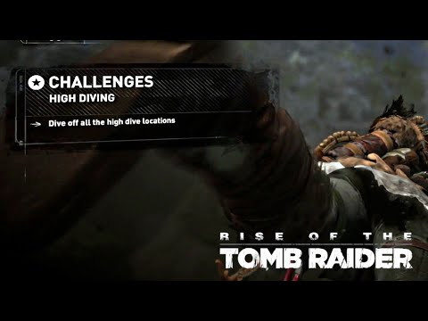 Rise of the Tomb Raider · High Diving Challenge Walkthrough Video Guide