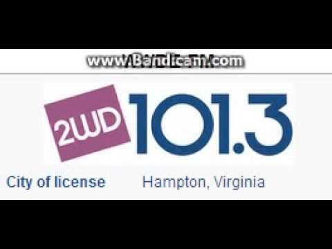 WWDE-FM 101.3 2WD Hampton, VA TOTH ID at 4:00 p.m. 9/6/2014