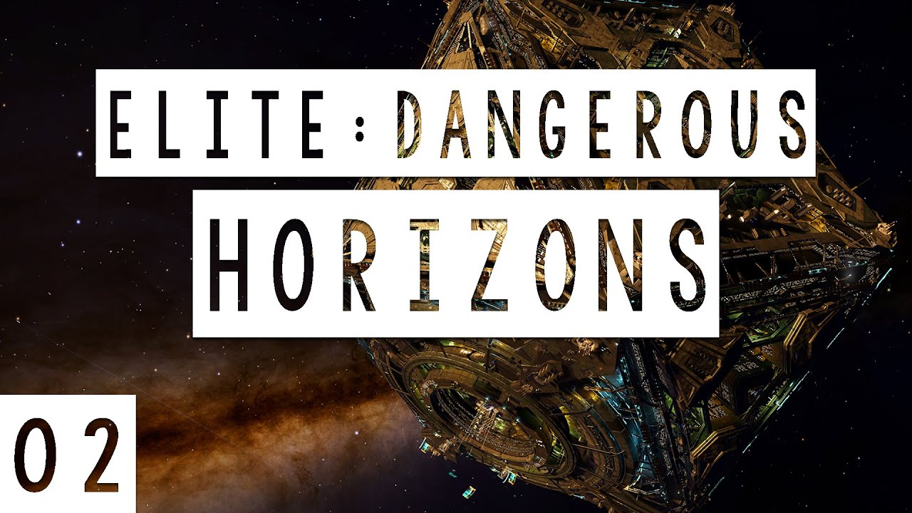 Elite: Dangerous Horizons Gameplay - #02 - Run Away! - Let's Play