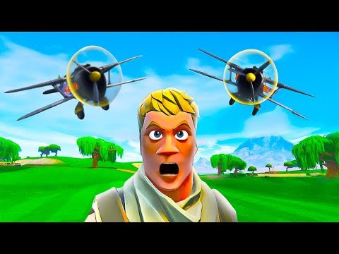 IMPOSSIBLE PLANES vs. SNIPERS in Fortnite Battle Royale