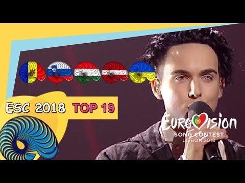 Eurovision 2018 - My Top 19 So far [New: MOLDOVA, UKRAINE LATVIA,SLOVENIA,,HUNGARY]