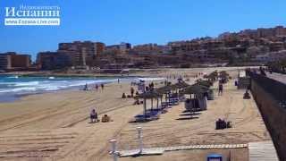 Песчаные пляжи Испании пляж Ла Мата берег средиземного моря Коста Бланка(Если вам понравился этот ролик, вы можете отблагодарить автора, поставив лайк под этим видео. ЧТОБЫ НЕ ПРОПУ..., 2015-04-21T10:17:09.000Z)