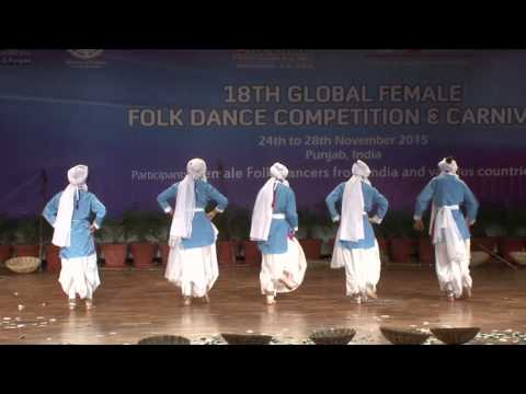 18th Global Female Folk Dance Competition & Carnival Day 2 session 2