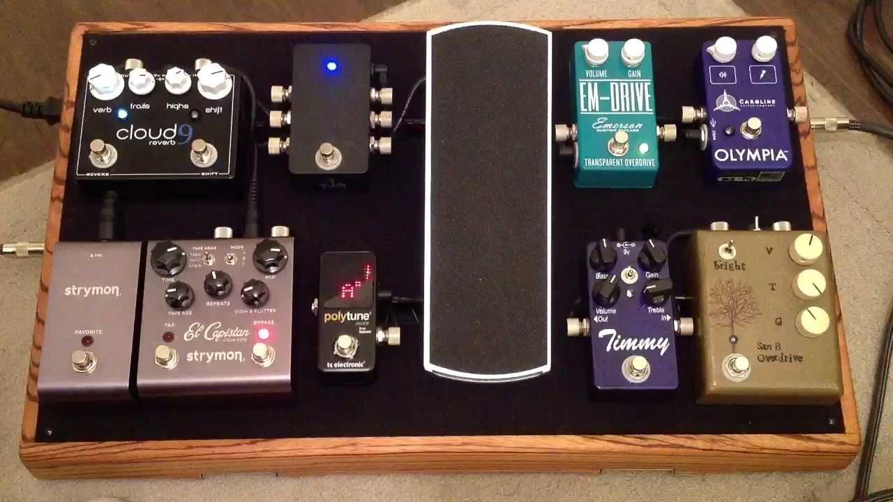 pedalboard demo for guitar pedals youtube. Black Bedroom Furniture Sets. Home Design Ideas