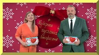 Życzenia Świąteczne -Marcin Janota i Agata Wyleżoł Koncert Życzeń dla Ciebie TV NTL