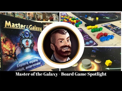 Master of the Galaxy - Board Game Spotlight