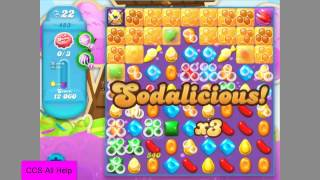 Candy Crush Soda Saga Level 483 Bubble Rush!