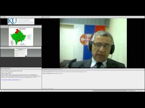 """Kosovo Today: Part I""  Oliver Ivanovic"