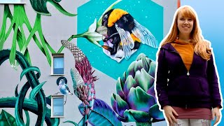 The making of the Bumblebee Mural in Rotterdam -  for Rewriters010
