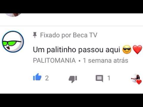 PalitoMania me notou VS bomba no meio do vídeo...