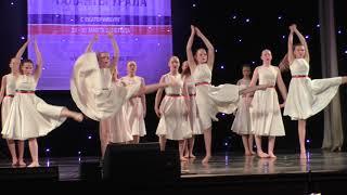 Эстрадный танец дети 13-15 лет 'Колыбельная России' Студия хореографии 'СтанциЯ'