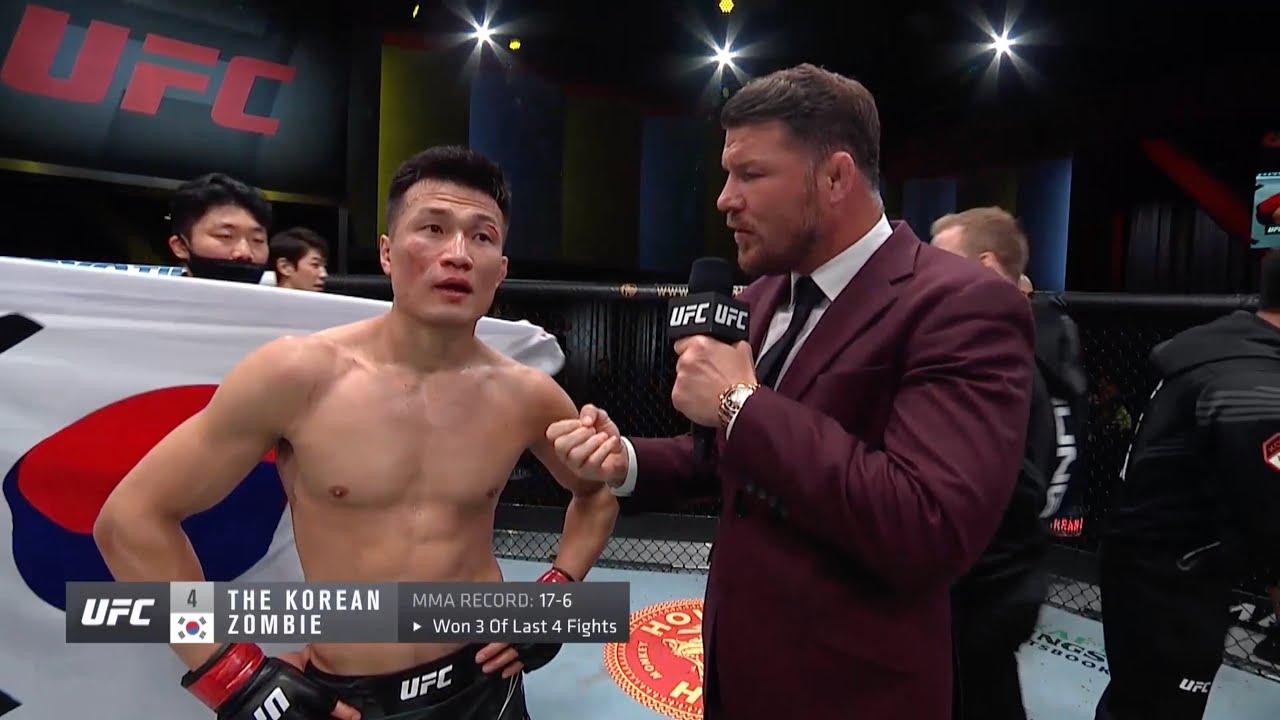 UFC Вегас 29: Корейский зомби vs Иге - Слова после боя