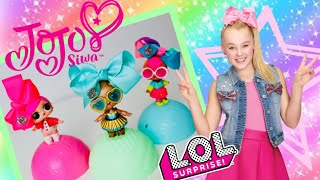 JOJO SIWA Bows for LOL SURPRISE DOLLS! FULL CASE: Custom MINI BOWS! Blind Bags Series 2 - So cute!