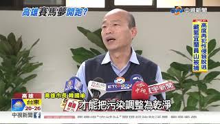 中油董事長拜會韓國瑜 賽馬場恐難產!│中視新聞 20190111