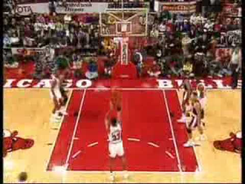 Michael Jordan The Best Missed Free Throw Dunk Ever