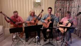 Gala Guitar Quartet – Wedding of an Ant