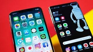 iPhone Xs Max מול Galaxy S10+