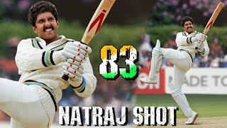 83 NATRAJ SHOT Look Ranveer Singh as Kapil Dev