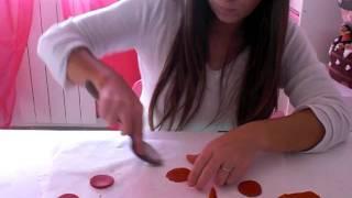 tutorial rose in pasta di zucchero!Come realizzarle in soli 3 minuti!