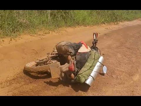 Riding a Honda CRF250L through the Congo!