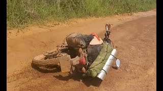 Riding a Honda CRF250L through the Congo!